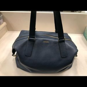 Fossil big satchel